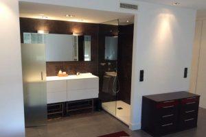 Reforma de baño en piso