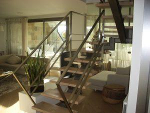 Reforma escaleras en vivienda